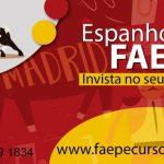 INSCRIÇÕES ABERTAS ESPANHOL FAEPE 2017